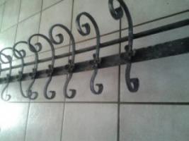 Foto 2 167 cm langer schwarzer Blumen/Pflanzenkastenhalter /Gitter