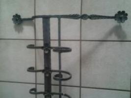 Foto 4 167 cm langer schwarzer Blumen/Pflanzenkastenhalter /Gitter