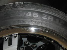 Foto 2 17'' Keskin Felgen mit Reifen für Audi A6 4B nur 1 Monat gefahren
