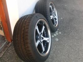 Foto 3 17'' Keskin Felgen mit Reifen für Audi A6 4B nur 1 Monat gefahren
