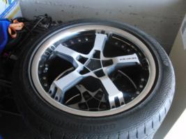 Foto 5 17'' Keskin Felgen mit Reifen für Audi A6 4B nur 1 Monat gefahren