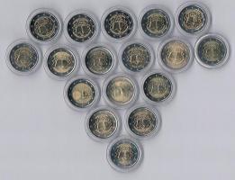 '' 17 ''  Gedenkmünzen  2 Euro Gemeinschaftsausgabe 2007 ! !