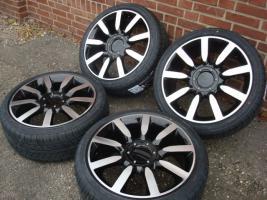 Foto 2 18 ''Nuvolari Schwarz Räder & Reifen Golf456 Vw Audi Sitz (125)  Eine neue Reihe von Rädern Enthält Links  Die Sets sind immer komplett neu und haben neue Die Felgen und Reifen sind von ausgezeichneter Qualität und bieten Stellen Sie sicher, dass es noch