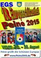 18. Europasch�tzenfest 2015 in Peine
