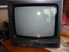 1Grundig Fernseher Portabl 36 Bild