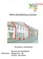 1.STADTHAUS MIT GROßER WOHNUNG UND LADENLOKAL/ 2. GARTEN MIT BINENSTAND