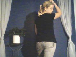 Foto 3 1x Röhrenjeans gr. XL von Blind Date Casual in Grau mit gummizug (1xgetragen)