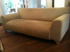 2 1/2 Sitzer Sofa , beige,  1,92 m lang ,99,00 €