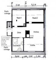 2 1/2 Zimmer - Wohnung in Everode bei Alfeld / Leine