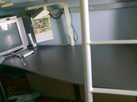 Foto 2 2 in 1 Hochbett + Schreibtisch