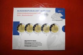 Foto 2 2 EUR Gedenkmünzenset 2010,2011,2012 in PP