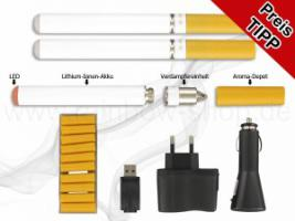 2 Elektronische Zigaretten mit Zubehör