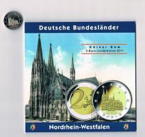 2 Euro Gedenkmünze Deutschland '' 2011 '' '' Nordrhein-Westfalen '' !