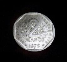 Foto 2 2 Franc Münze von 1979