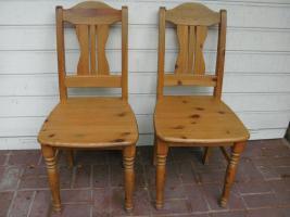 2 Küchenstühle Massivholz