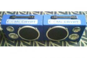 2 Lautsprecher Boxen Mc Crypt BB-802 II 3-Wege TOP!!!