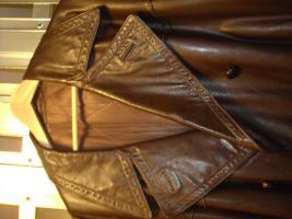 2 Leder Mänteln günstig zu verkaufen