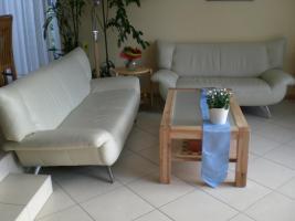 2 Leder sofas, Couch beige