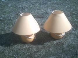2 Nachttischlampen
