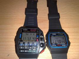2 Originale Casio Uhren