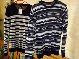 2 Pullover- 1x NEU* modern-Herren-Gr. L