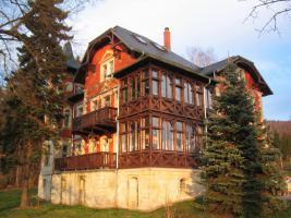 Foto 11 2 Raum Wohnung in idyllisch gelegener Villa in Kreischa