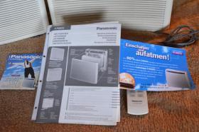 Foto 2 2 Raum- Luftfilter von Panasonic