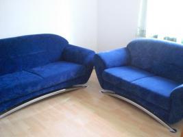 2-Sitzer und 3-Sitzer Sofagarnitur (neuwertig)