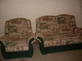 Foto 2 2 Sitzer Sofa und Sessel