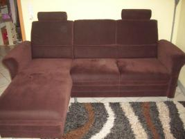Foto 4 2-Sitzer Sofa mit linksseitigem Canapee, Trendfarbe: Mocca