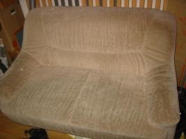 2-Sitzer-Sofa, beige