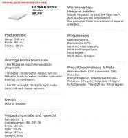 Foto 4 2 St�ck IKEA SULTAN FLORV�G, Matrazen, wei�, 200x80 cm