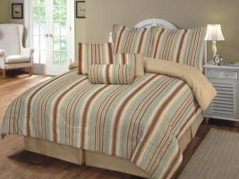 2 Teilige  Bettwäsche SET Garnituren mit Reißverschluss (Buloverd) 135x200 & 80x80 cm