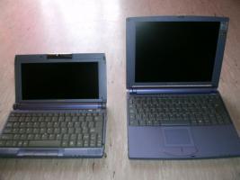2 ältere modele sony laptops für bastler