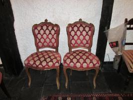 2 barocke Stühle
