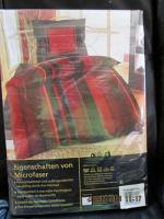 Foto 2 2 edle Garnituren Bettwäsche NEU & OVP Mikrofaser Reissverschluß PREIS GILT FÜR BEIDE GARNITUREN!