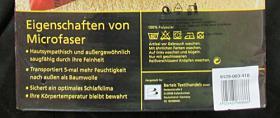 Foto 3 2 edle Garnituren Bettwäsche NEU & OVP Mikrofaser Reissverschluß PREIS GILT FÜR BEIDE GARNITUREN!