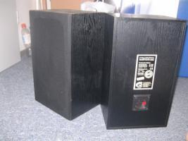 2 kleine 2 Wege Bassreflexboxen
