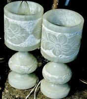 2 marmorlampen