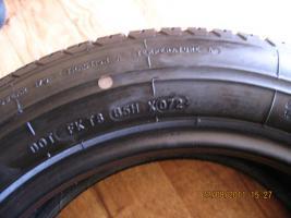 Foto 2 2 original  Erstausrüster - Sommerreifen Michelin M X V  in der Größe  205/55 R15 87 H – unbenutzt - 8,0 mm – DOT 072