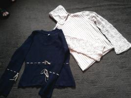 2 schicke Pullover, teilw. NIE getragen !!!