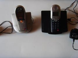 2 schnurlose Telefone t-sinus 700k / 712k