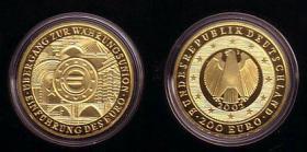 2 x 200 € Goldmünze