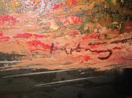 Foto 2 2 x Öl- Gemälde vom H. Hartung, 1x Landschaft, 1x Berliner- Schloss- Brücke( signiert)