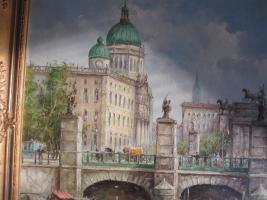 Foto 10 2 x Öl- Gemälde vom H. Hartung, 1x Landschaft, 1x Berliner- Schloss- Brücke( signiert)
