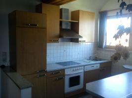 2-zeilige Einbauküche