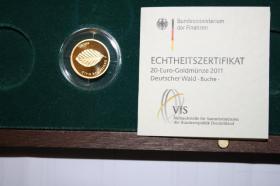 Foto 4 20 EUR BRD Feingold - Kiefer nur 200EUR ( VB )