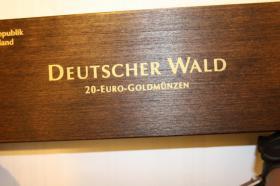 20 EUR Feingold - Serie Wald - Kiefer - 195 EUR
