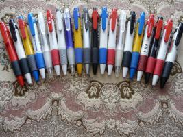 20 Neue Dicke Verschidene Kugelschreiber Mit Werbung