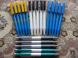 20 Neue Kugelschreiber Mit Werbung 4x5